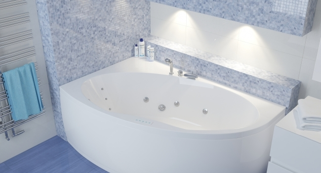 Manon ванна акриловая угловая